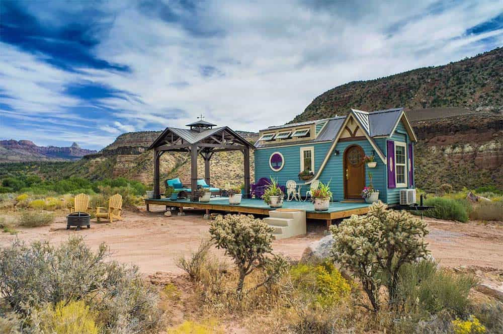 zion tiny house airbnb st george