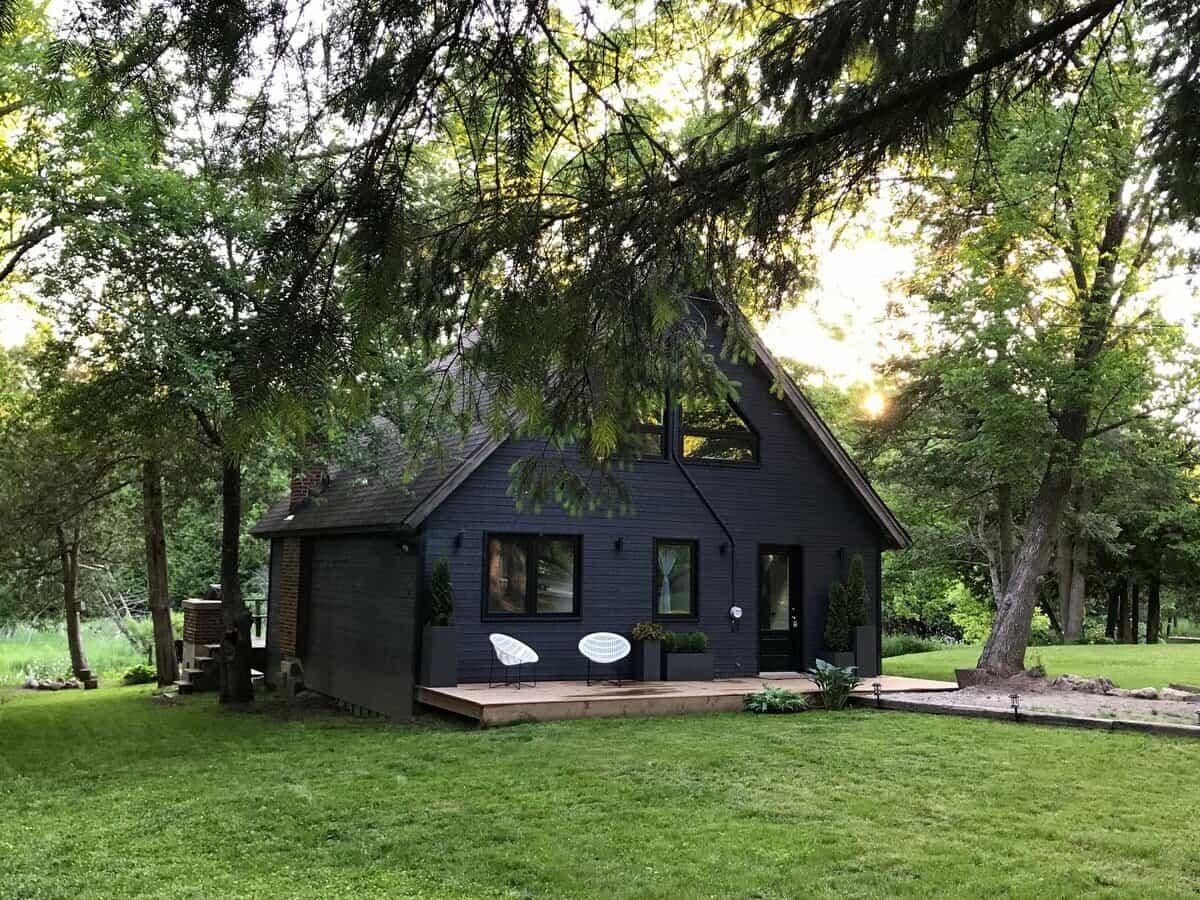 Mid-Century Cabin ontario