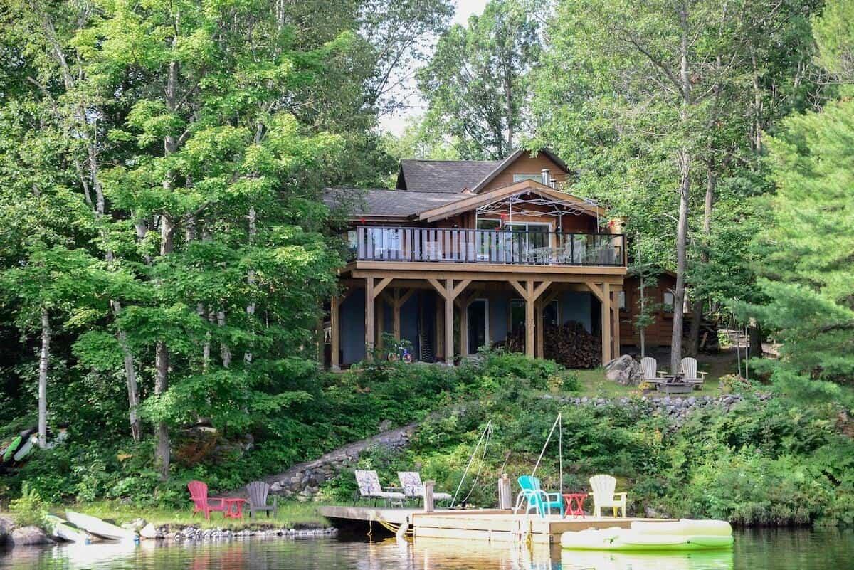 Muskoka cabin rental
