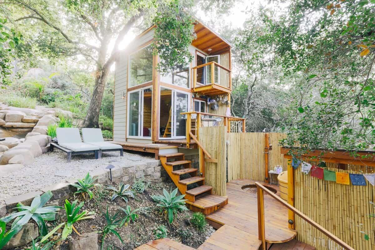 ShangriLaLa Tiny House airbnb