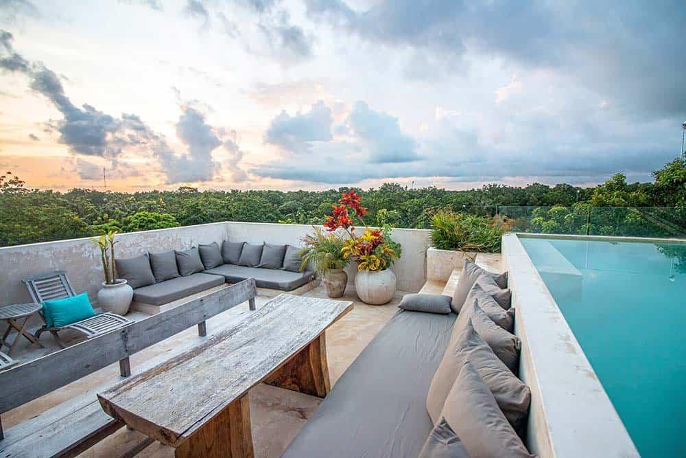 airbnb tulum pool