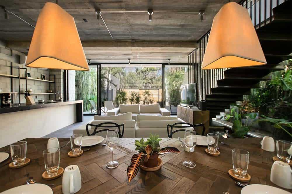 architectural airbnb tulum