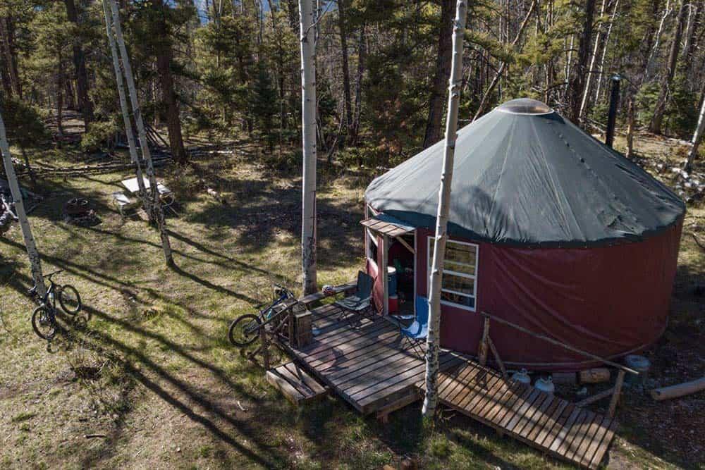 backcountry yurt glamping nm