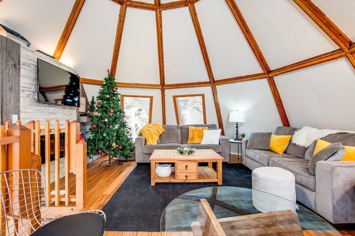 beehive cabin