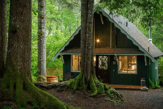 best cabin rentals mount rainier