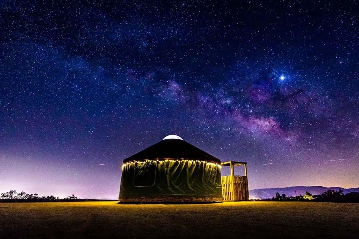 best yurt rentals california