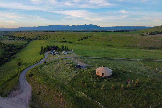 best yurt rentals montana
