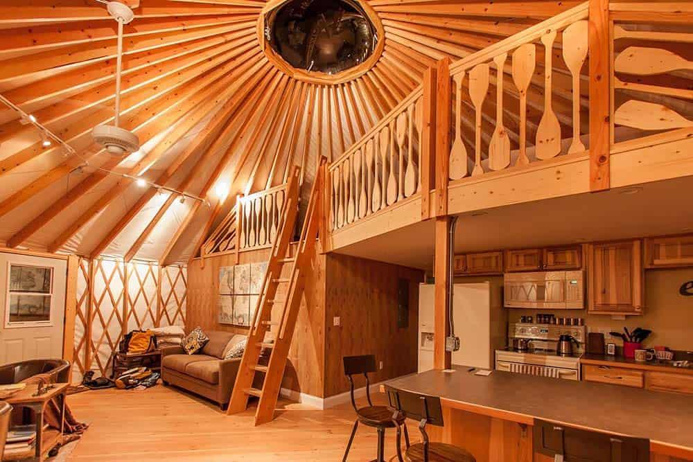 burg yurt montana