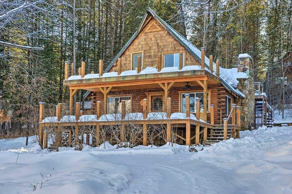 cabin rental alpine wyoming
