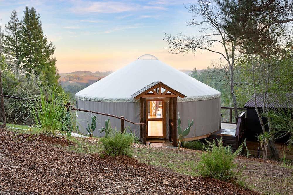 california yurt rental