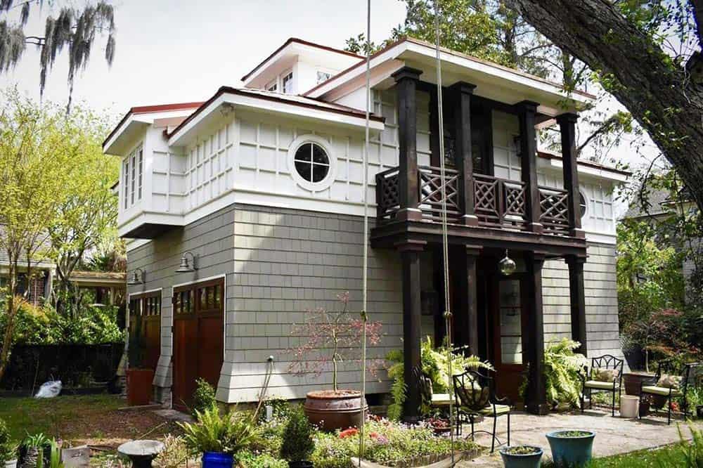 garden guesthouse airbnb charleston