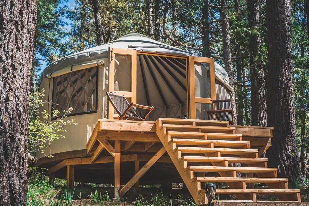 glamping yurt california