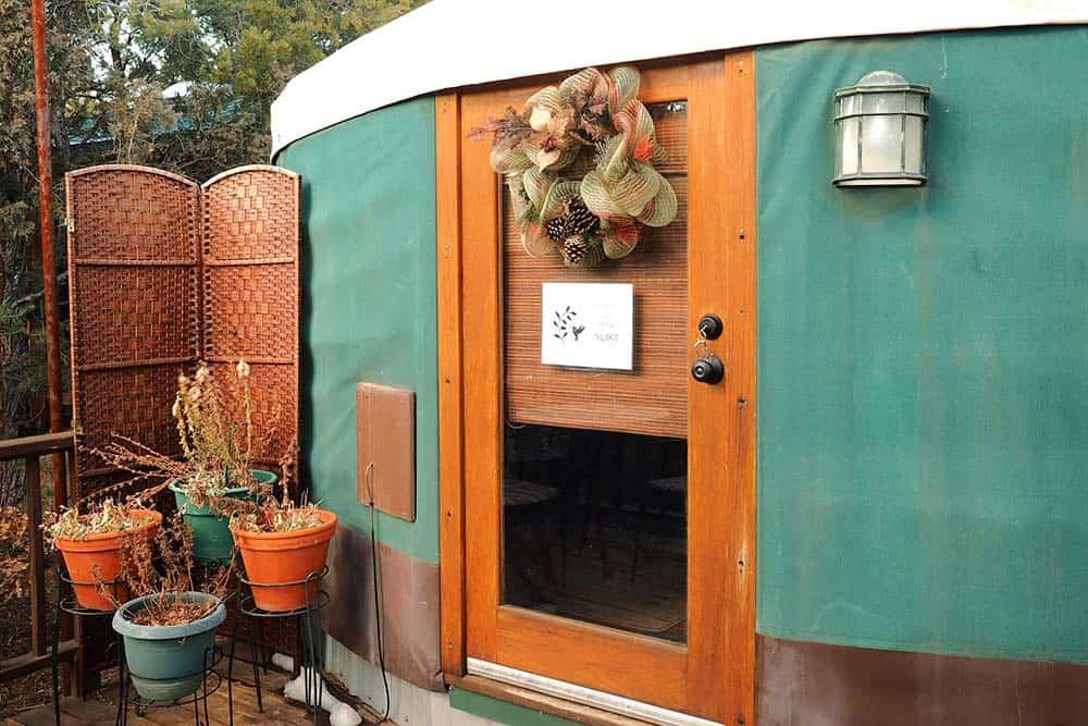 glamping yurt new mexico