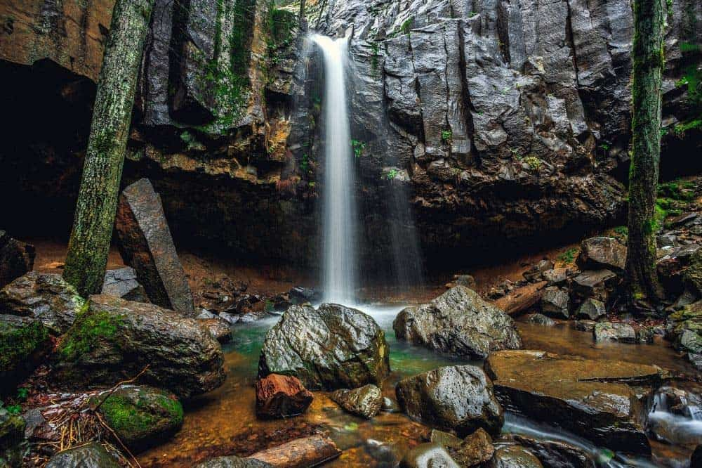 hedge creek falls mt shasta