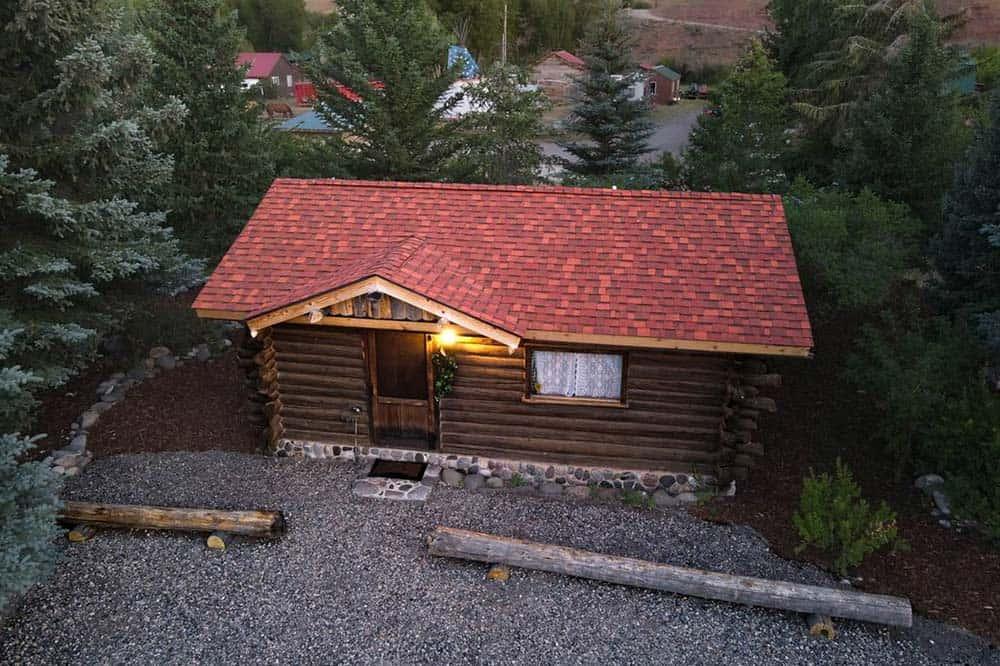 historic trapper cabin wyoming