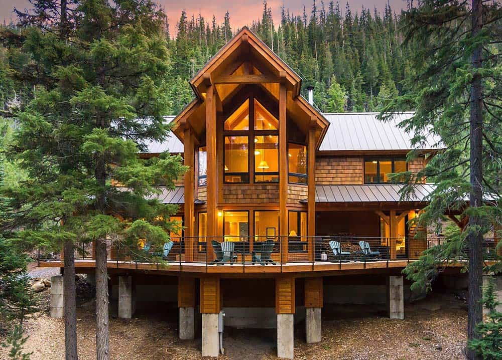 luxury cabin airbnb bend or