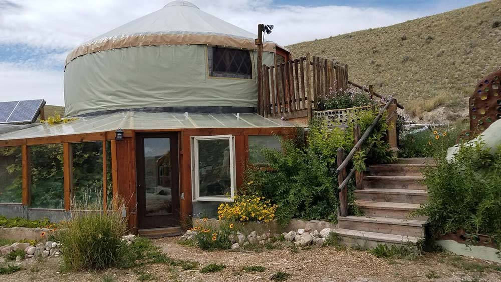 magpie springs yurt airbnb