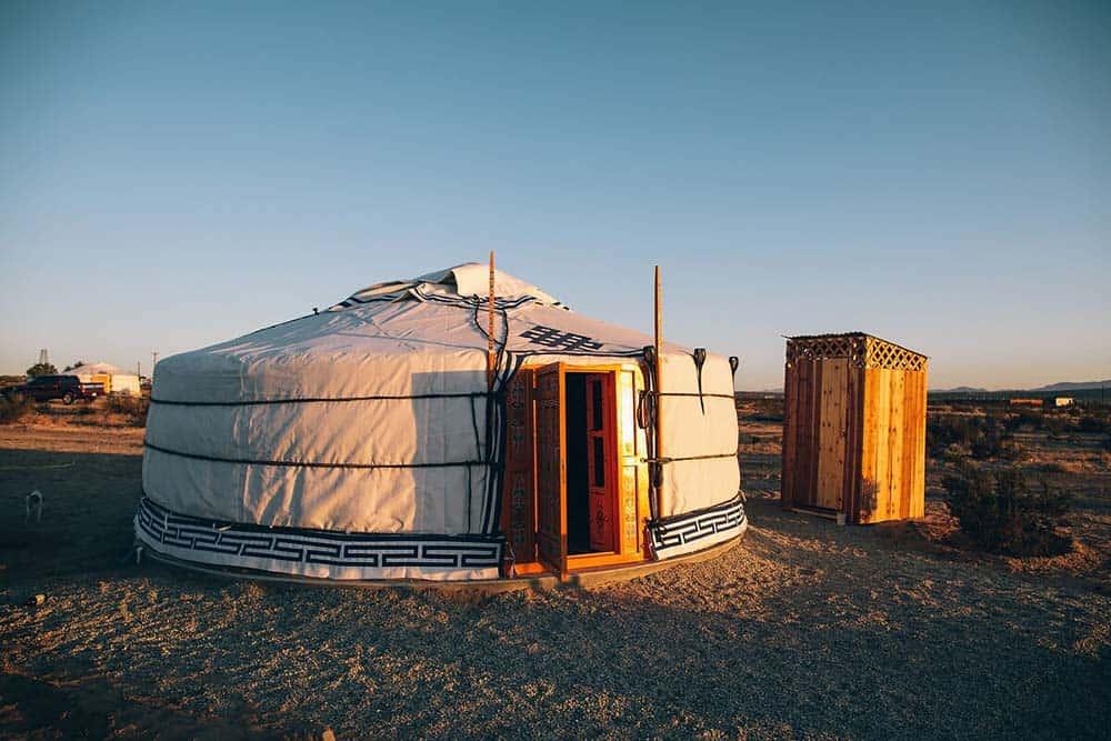 mongolian yurt airbnb california