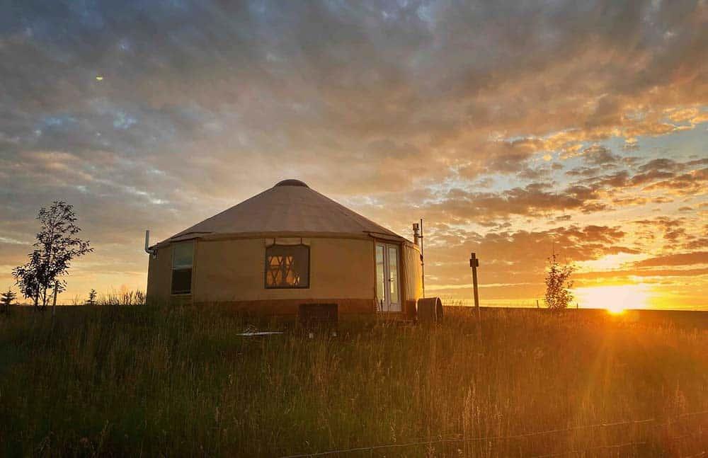 montana yurt airbnb