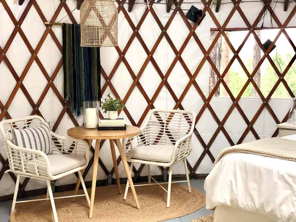 montana yurt rental