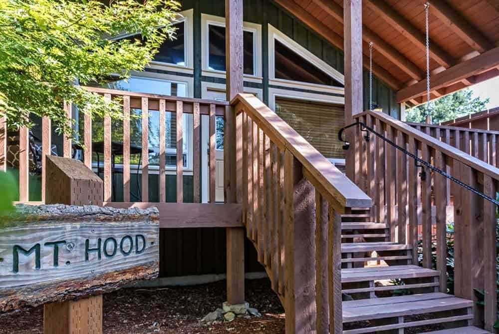 mt hood cabin rental pet friendly
