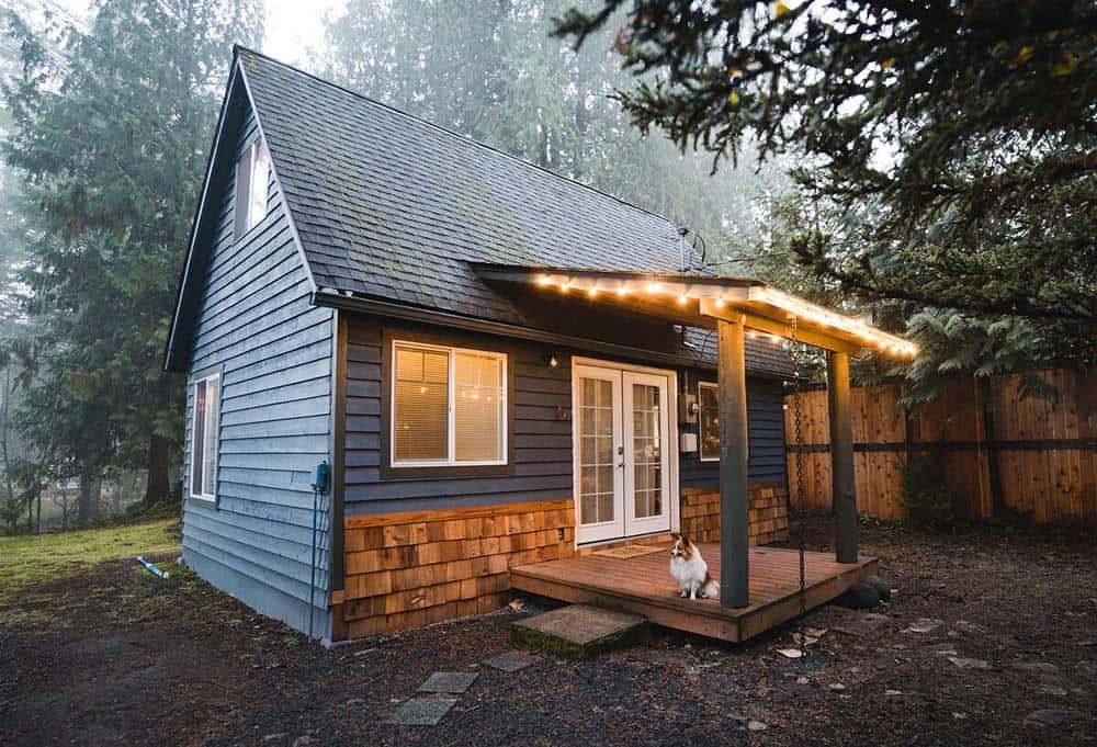 mt rainier dog friendly cabin