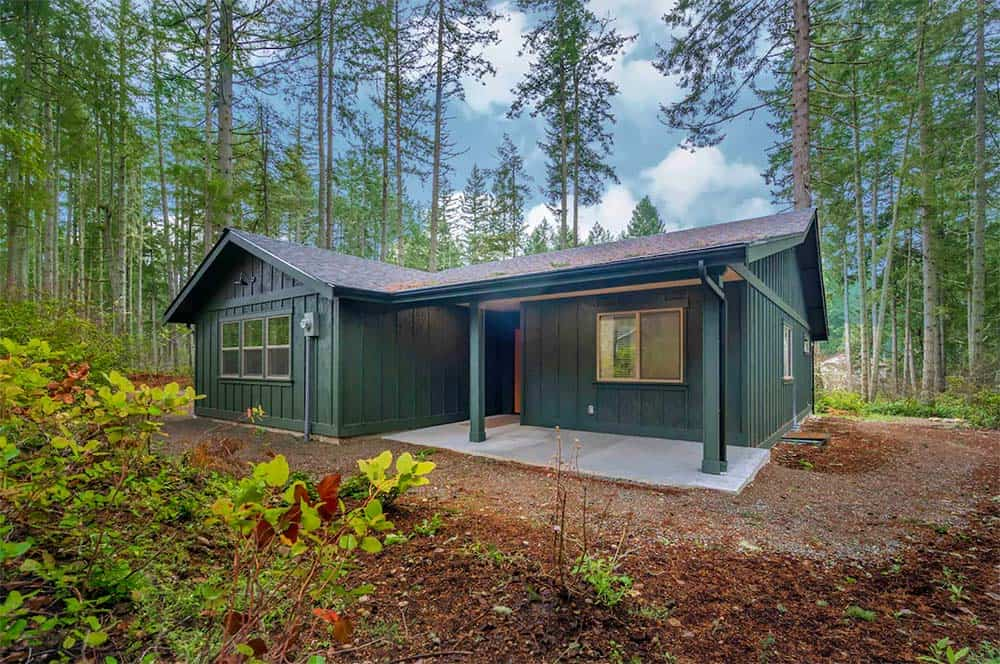 pet friendly cabin washington state