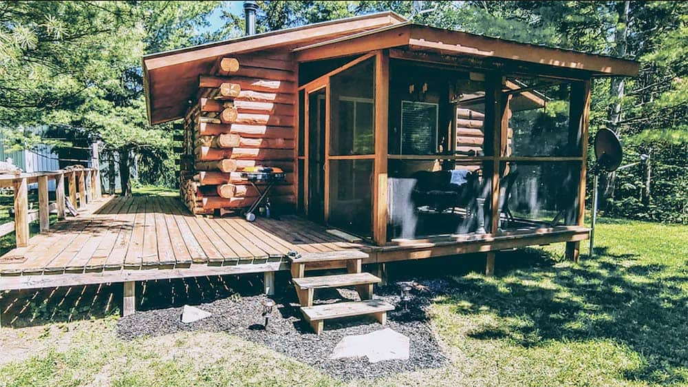 secluded wisconsin cabin rentals