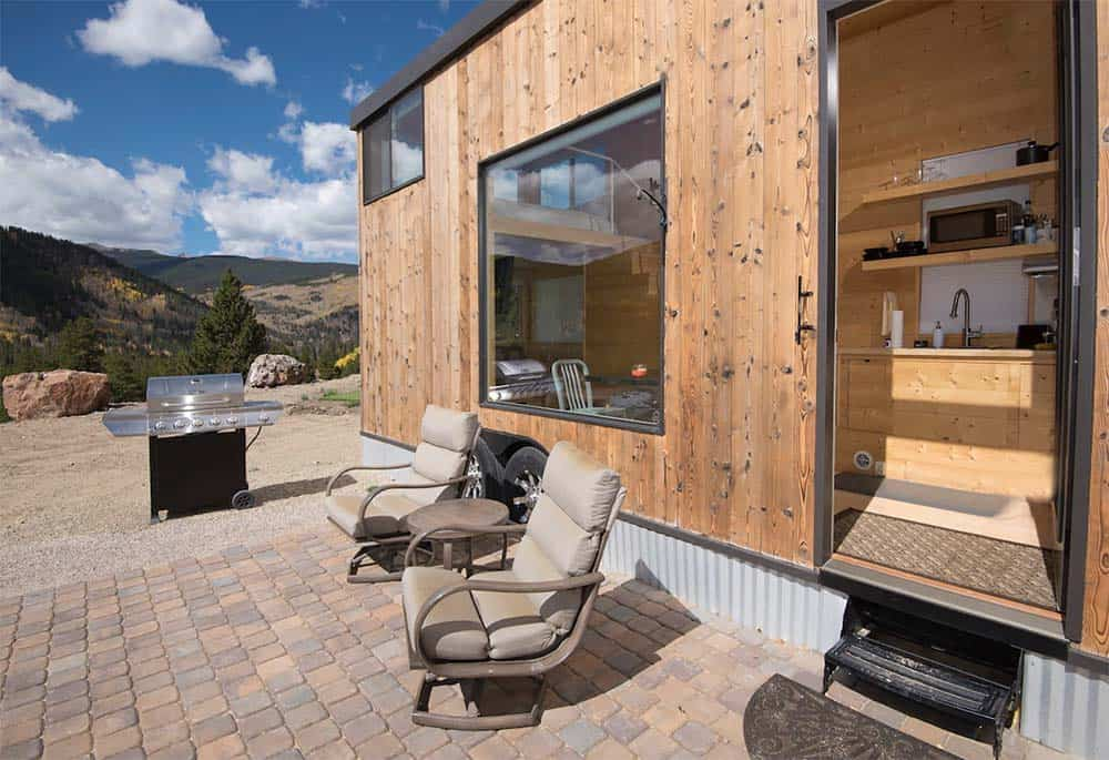 tiny home airbnb leadville