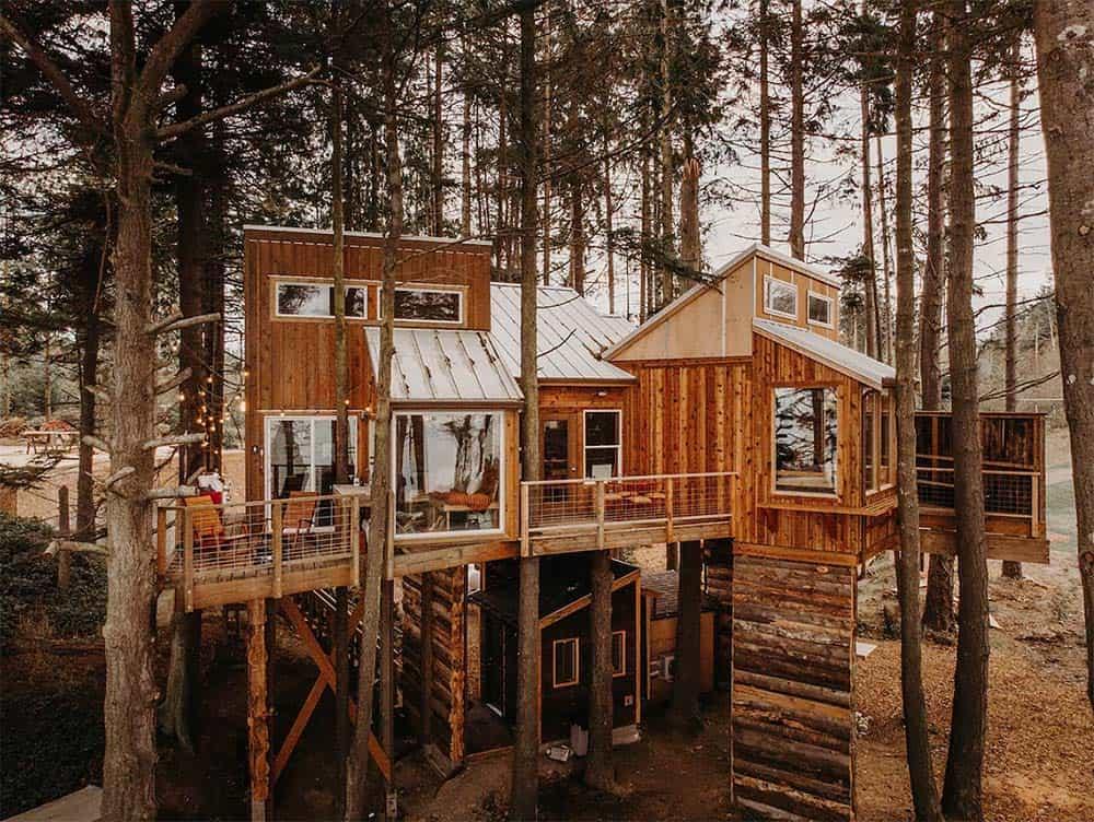 treehouse glamping washington