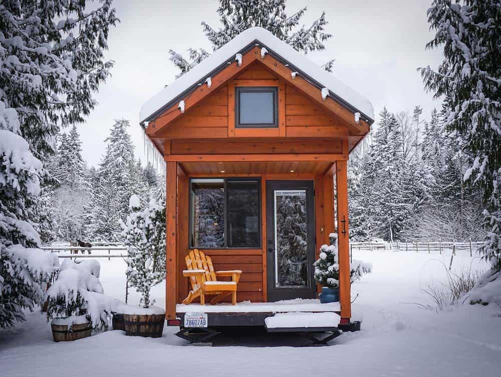 washington glamping tiny house