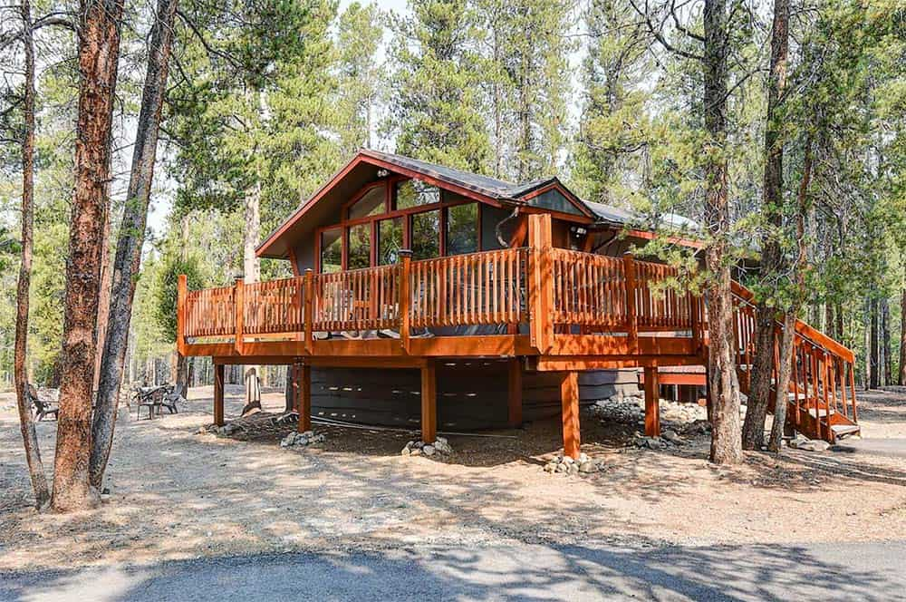 whispering pines airbnb leadville