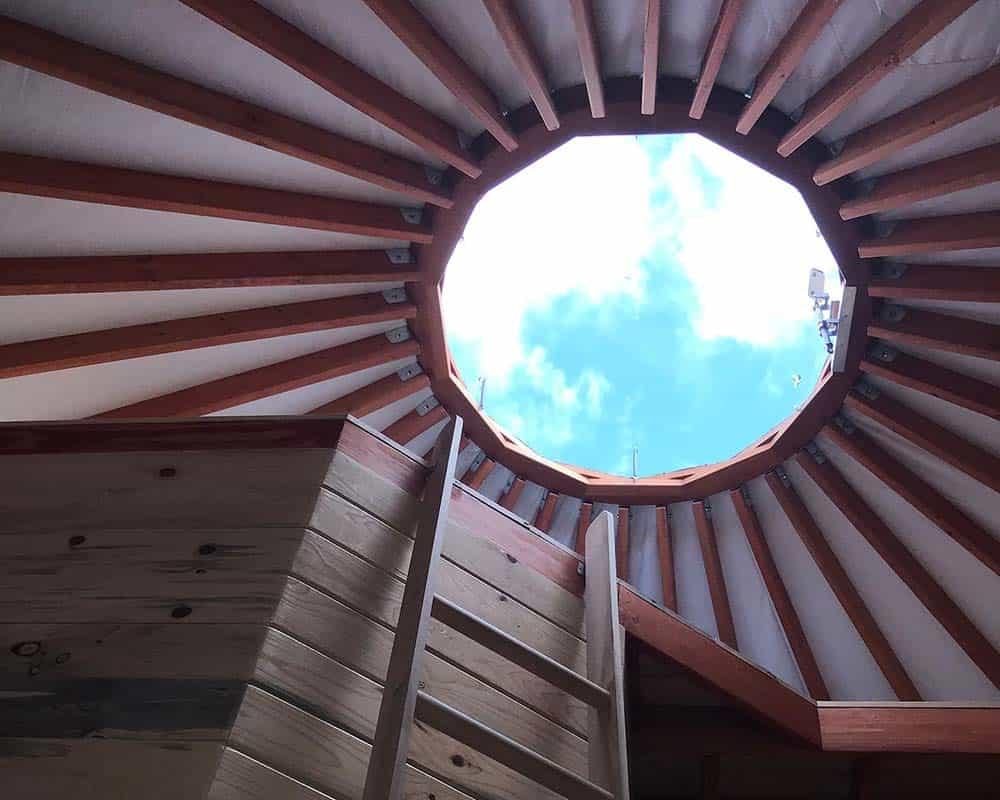 yurt airbnb leadville colorado