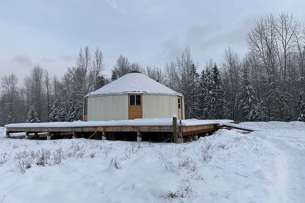 yurt rental libby creek montana