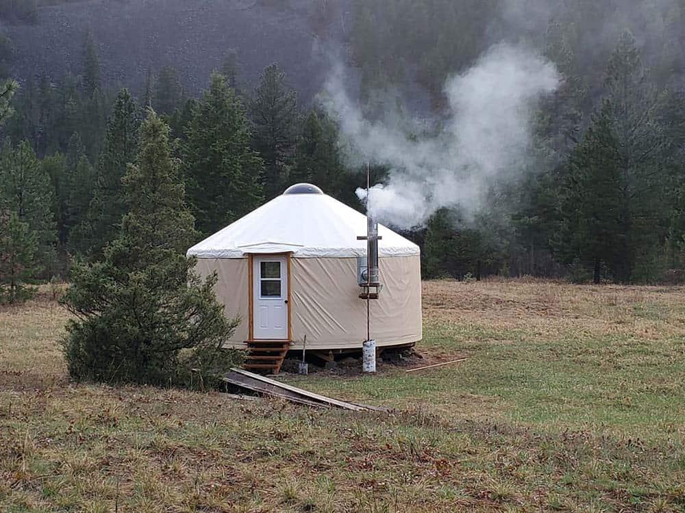 yurt rock creek montana