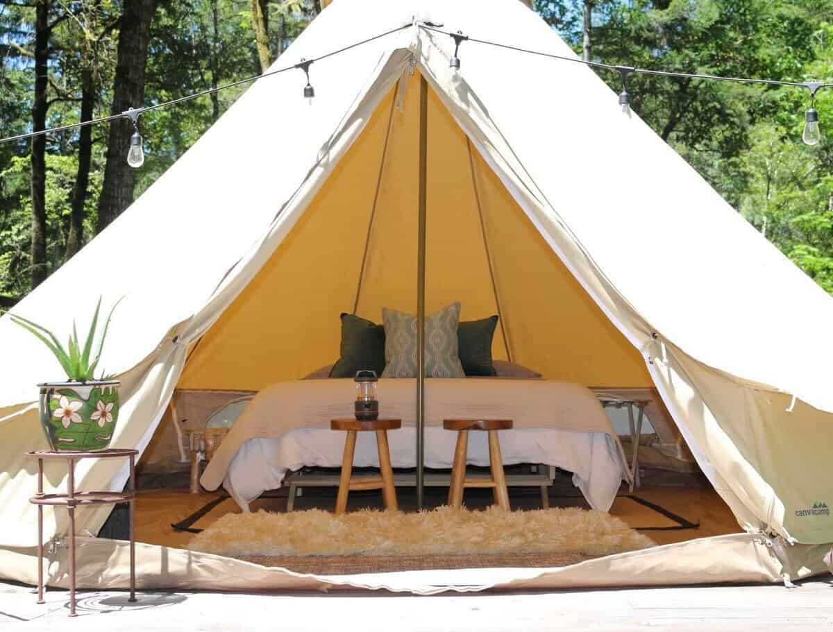 Gasquet Glamping Tent