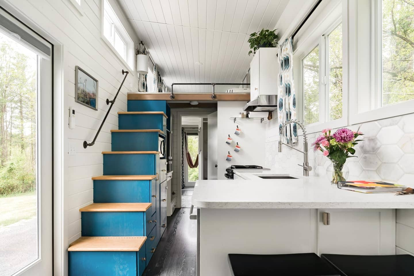 Modern Tiny House by the River