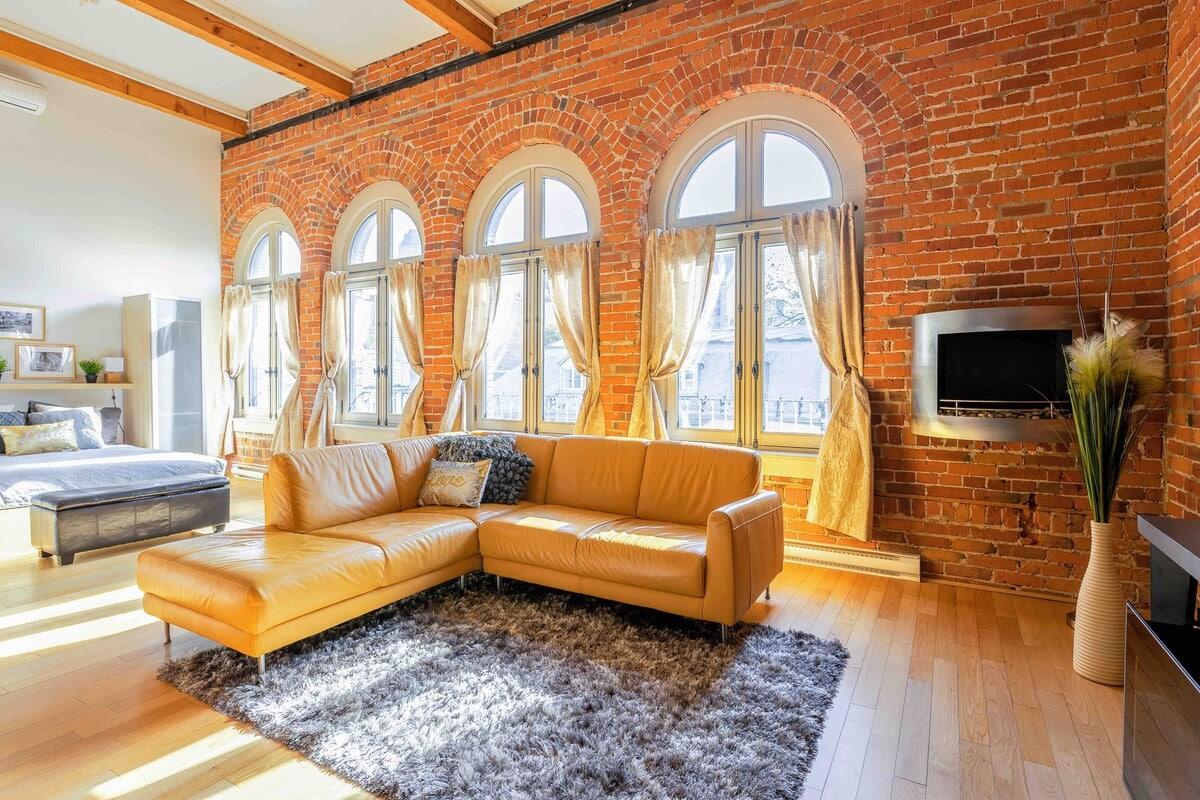 Old Québec Penthouse loft