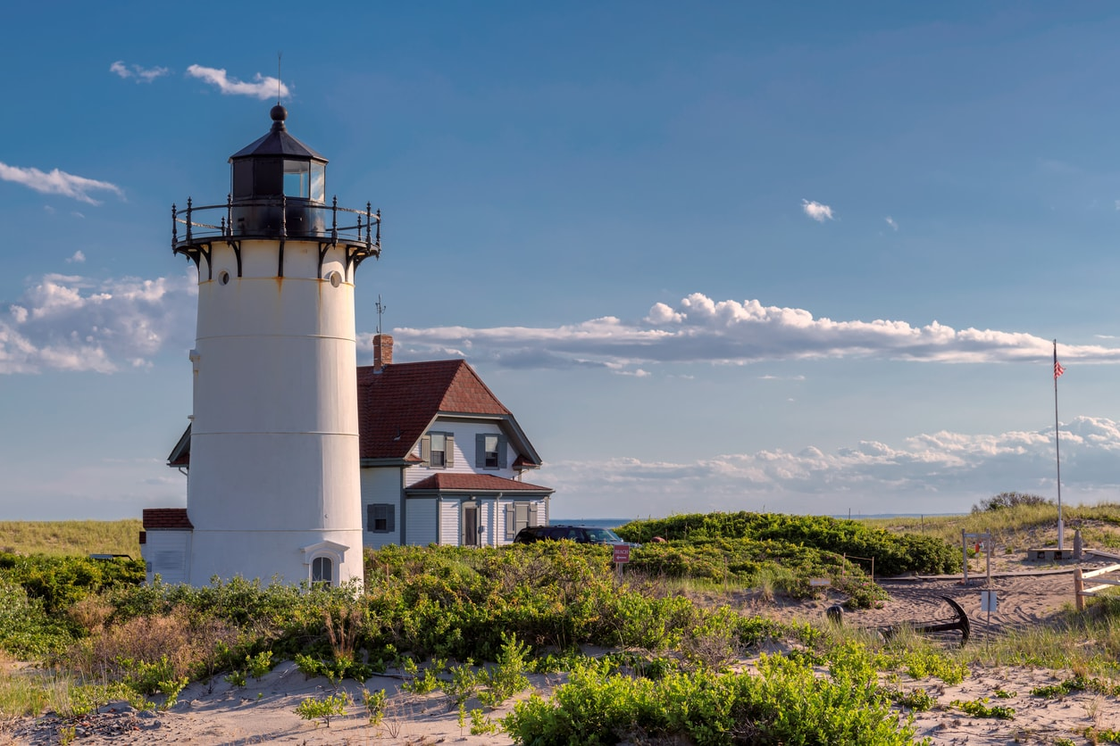 Race Point Light Lighthouse, Cape Cod
