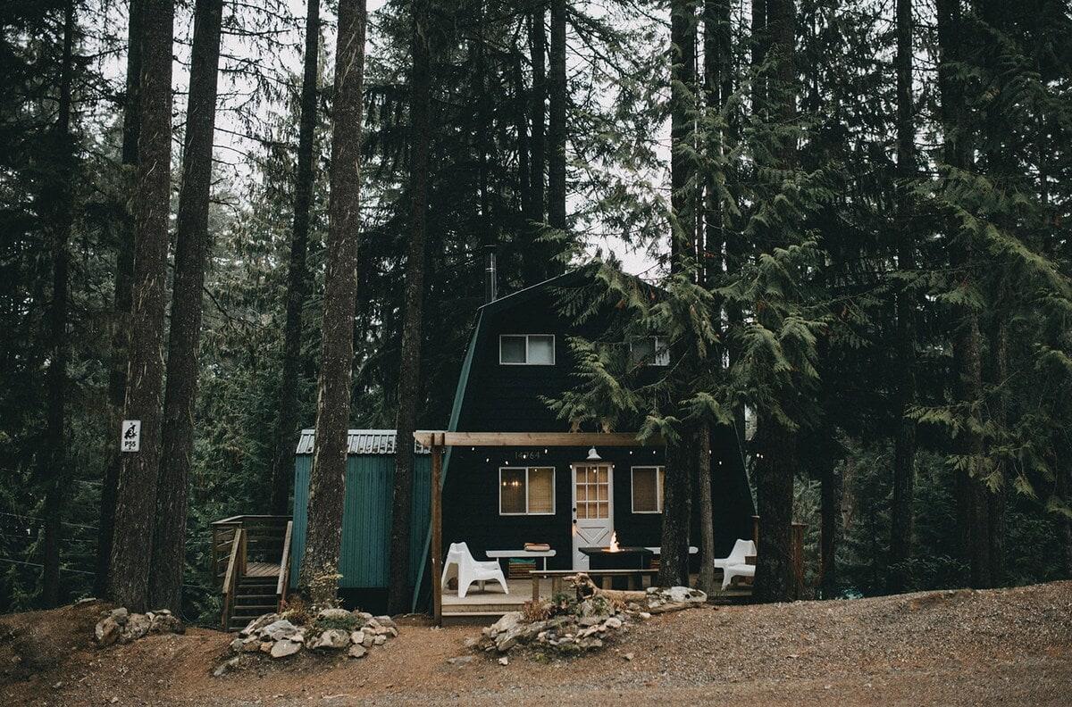 The Moosewood cabin rental