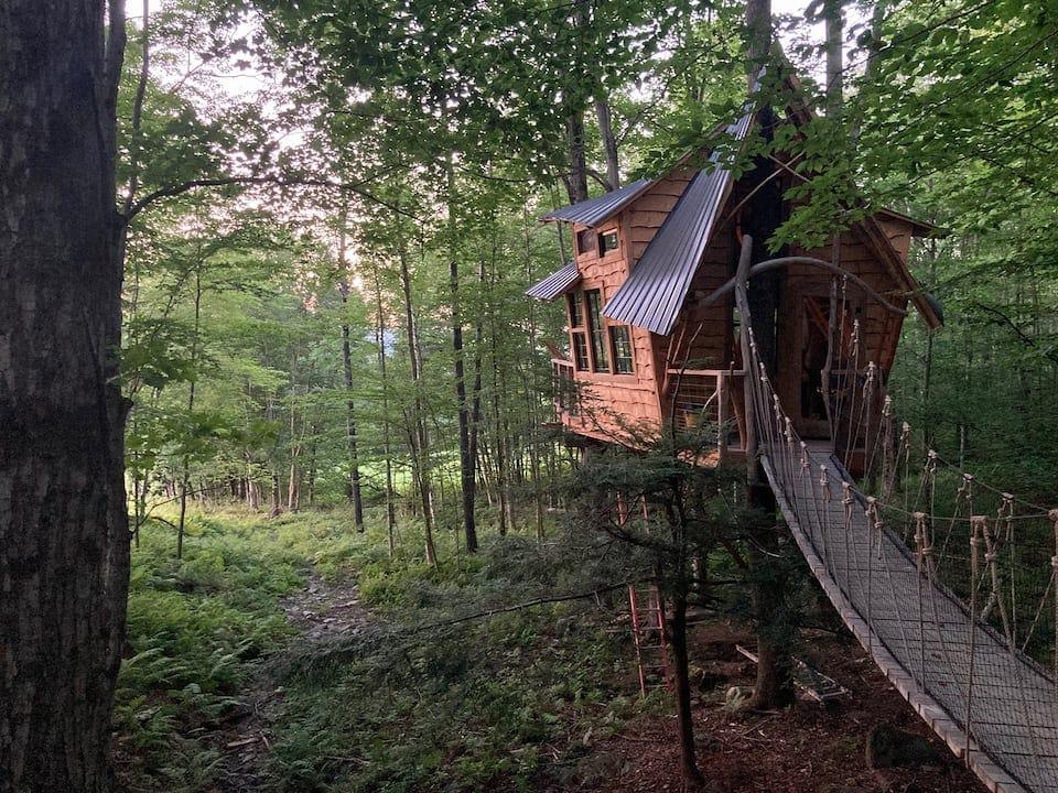 Treehouse at Bliss Ridge Farm