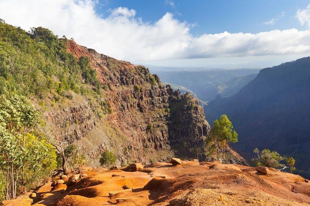 Waimea Canyon Trail Kauai