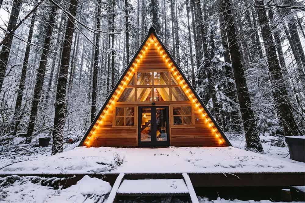 a frame airbnb washington