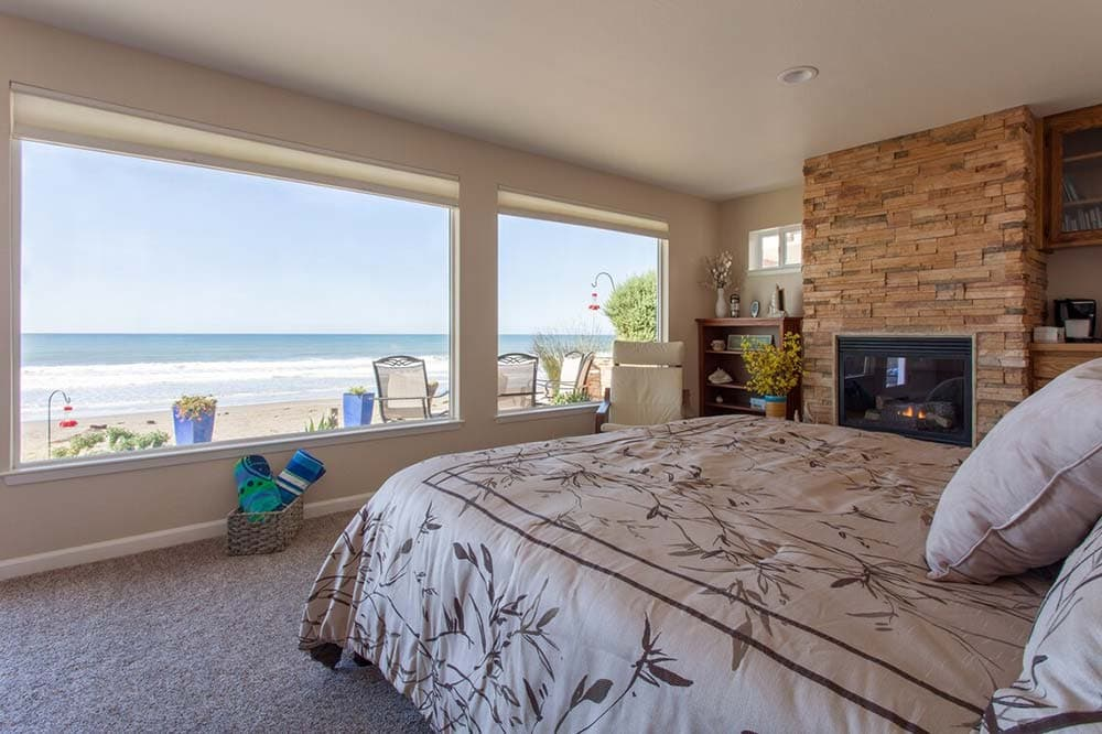 beachfront airbnb california
