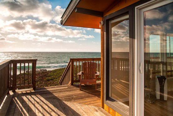 best beachfront airbnb california