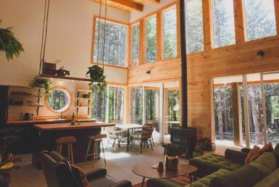best cabin rentals british columbia canada
