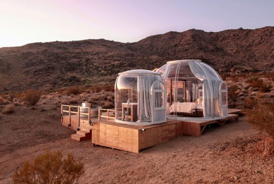best glamping joshua tree national park