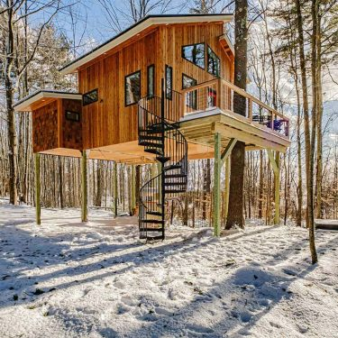 best glamping new england