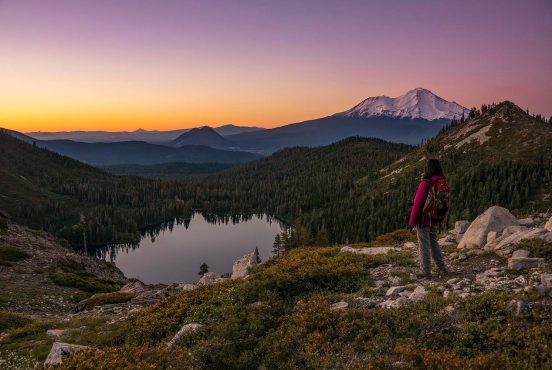best hikes mount shasta california