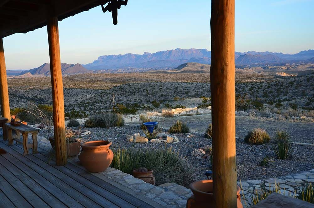 big bend airbnb best views